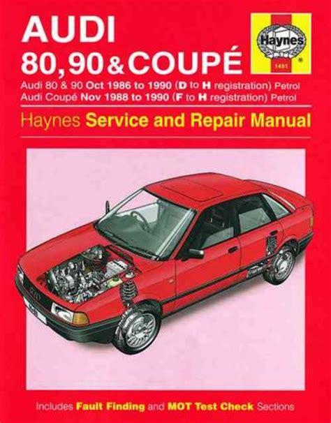 service manual pdf 1990 audi coupe quattro engine repair manuals service manual pdf 1990 audi 80 90 coupe 1986 1990 haynes service repair manual uk sagin workshop car manuals repair