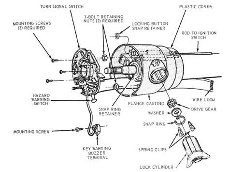 repair instructions horn switch replacement on vehicle 1999 oldsmobile intrigue intrigue f150 steering column wiring car wiring diagram download regarding 1974 bronco steering column