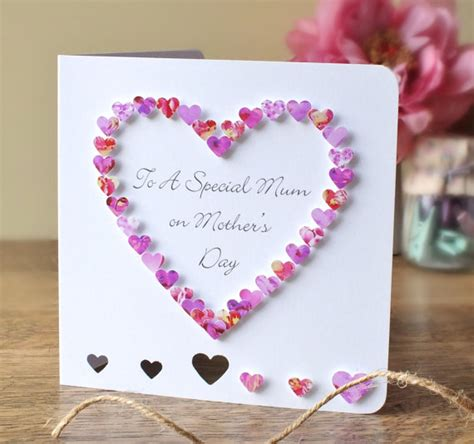 how to make 3d mothers day cards handmade 3d s day card personalised personalized