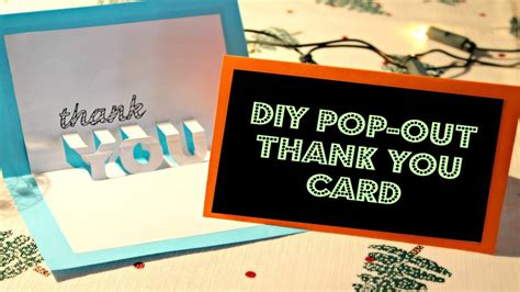 how to make a thank you card diy thank you cards birthday how to create diy thank you