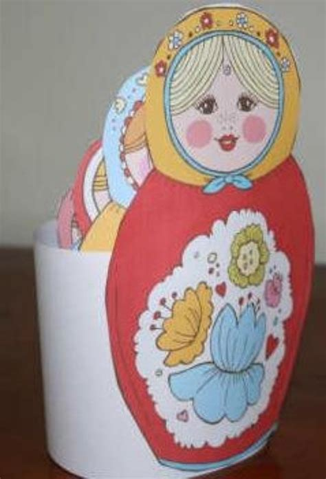 russian craft projects printable nesting dolls arts and crafts