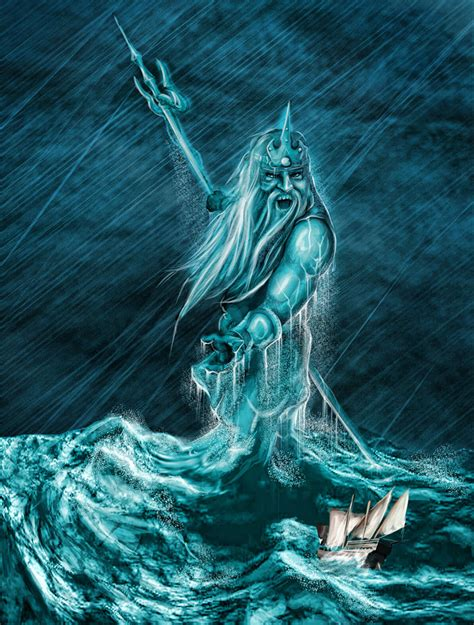 the water god for communications three major gods zeus