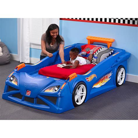 Car Wallpaper Toddler by Wheels Car Bed Wallpaper
