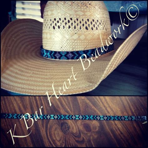 beaded hat bands for cowboy hats beaded hat band k bar beadwork www