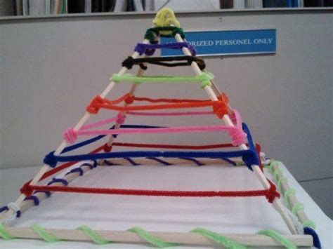 pyramid craft project 25 best ideas about pyramid model on pyramid
