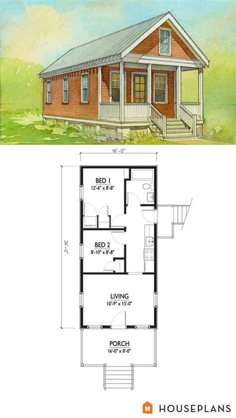 cottages floor plans cottage style house plan 2 beds 1 baths 544 sq ft plan