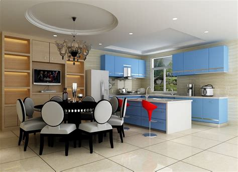 design of kitchen room kitchen dining room interior design with blue hutch ark