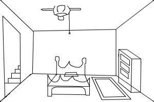 how to draw a bedroom how to draw a room drawingnow