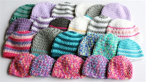 donating knitted baby hats hospitals easy crochet beanie archives dabbles babbles