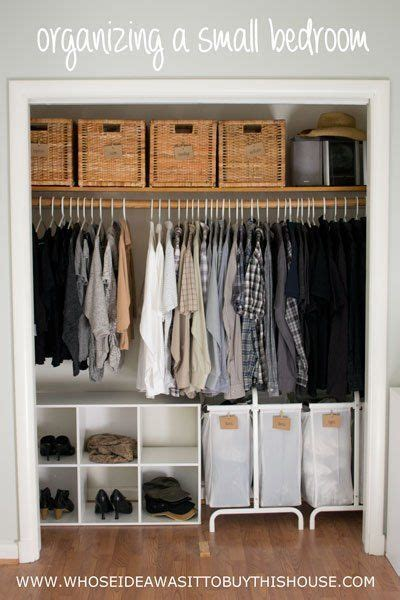 small bedroom closet 25 best ideas about small closet organization on
