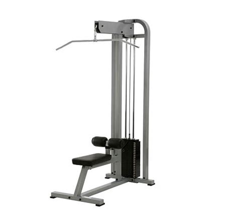 sts at home york sts lat pulldown machine