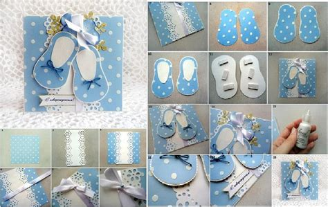 How To Make Baby Shower Card Step By Step Diy Tutorial