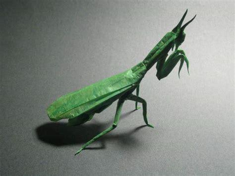 origami mantis praying mantis