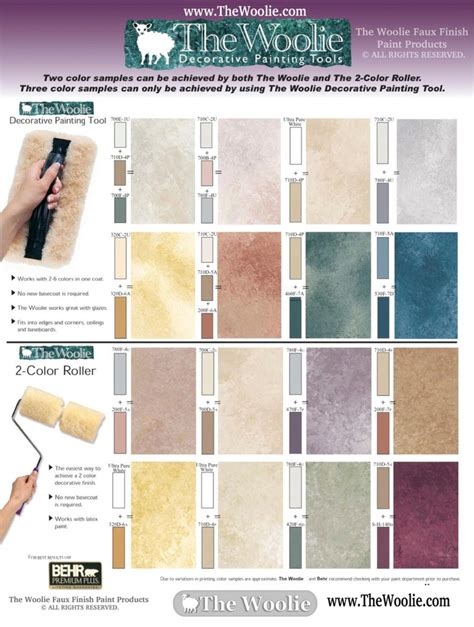 home depot paint color combinations home depot faux finish color sle combinations by the woolie