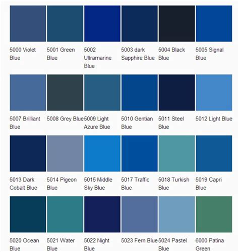 paint colors shades shades of blue so that we all blue nails