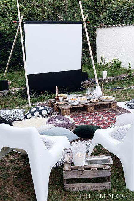 Der Garten Open Air open air heimkino im garten ich liebe deko