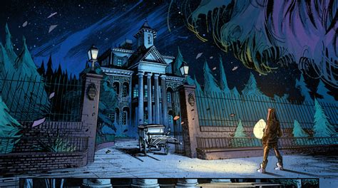 zeke bartholomew and the summer c of doom series 1 preview of marvel s haunted mansion 1 comic