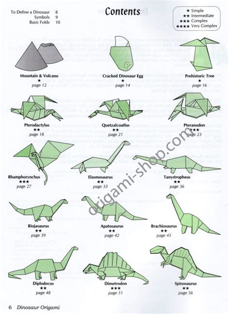 origami dinosaur book free coloring pages origami dinosaur 101 coloring pages