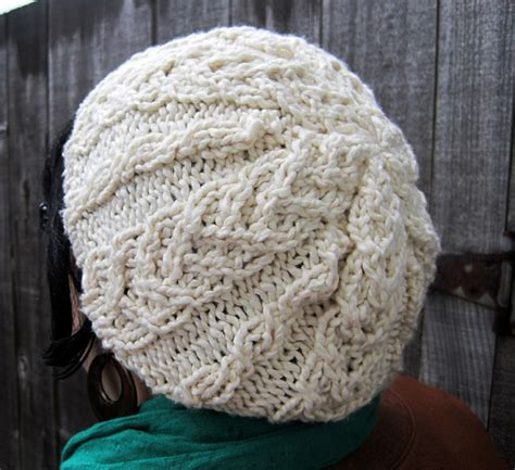 cable knit slouchy hat pattern twistedburl slouchy hat free pattern j erin knits we