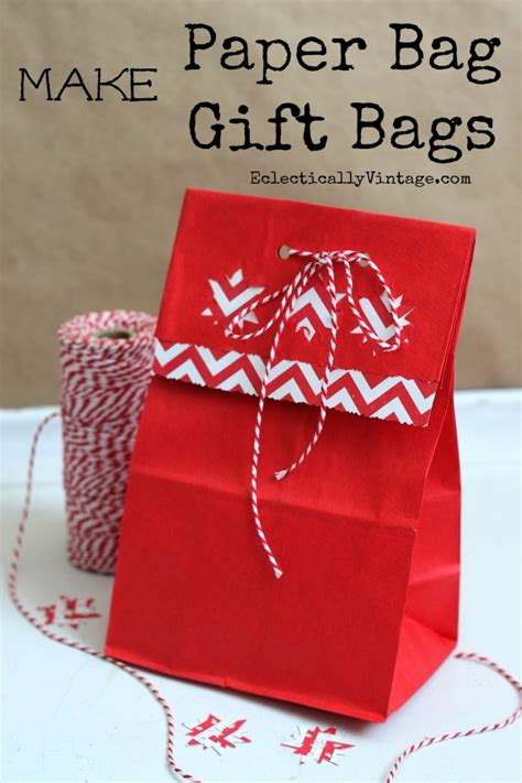 how to make a bag out of how to make gift bags out of brown paper bags