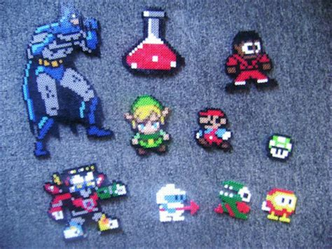 things to make with perler black fingers december 2012