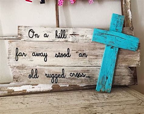 diy wood crafts 17 best ideas about pallet cross on pallet