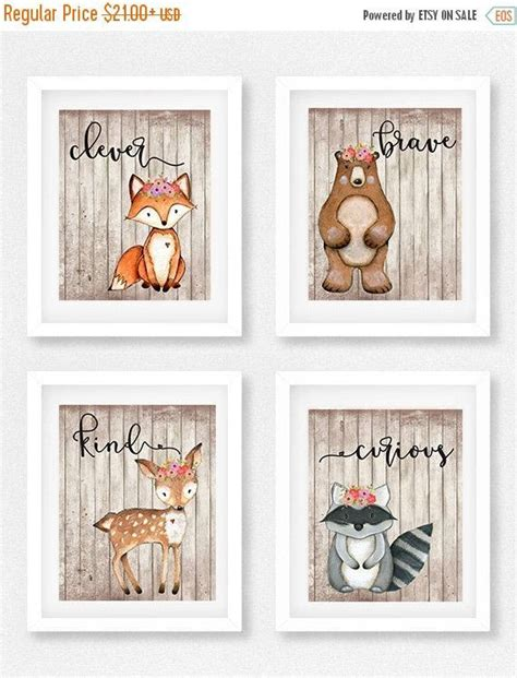 woodland creatures nursery decor 17 best ideas about woodland animal nursery on