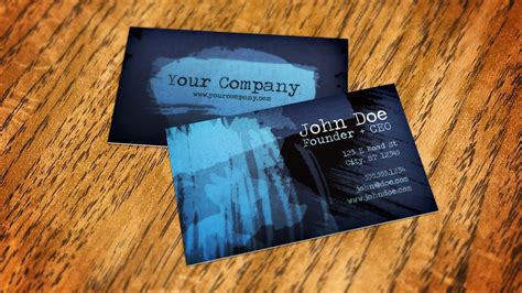 how to make a business card in photoshop cs6 how to create a business card mockup using smart objects
