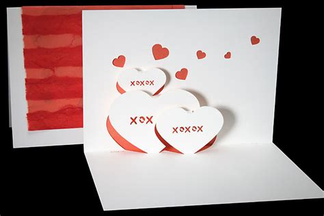 origami pop up card hearts origami architecture pop up cards by live your