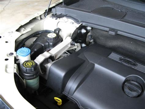 spray paint plastic engine cover cleaning plastic covers in engine compartment land rover
