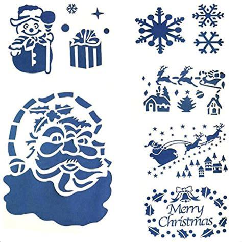 Weihnachtsdeko Fenster Sprühen by Preisvergleich Shina 6pc Weihnachten Glasfenster Schnee