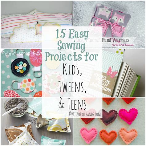 easy sewing crafts for 15 easy sewing projects for tweens and
