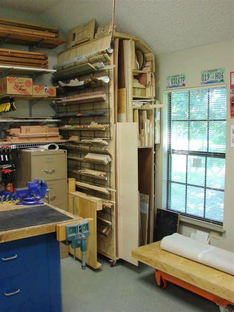 woodworking shop storage workshop organization vogel