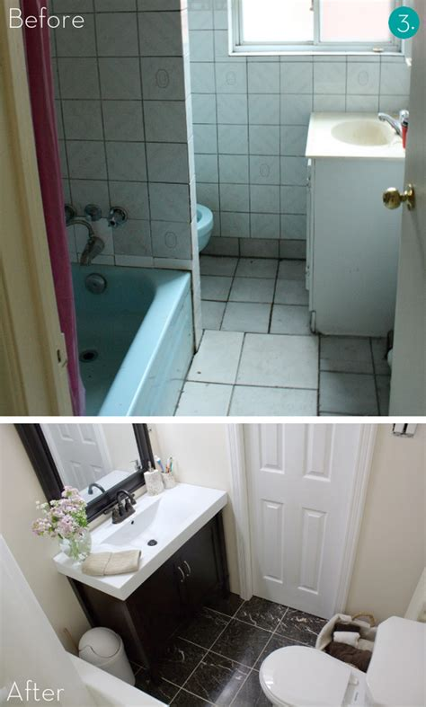 Small Bathrooms Makeover by Easy Bathroom Makeover Home Interior Designs And