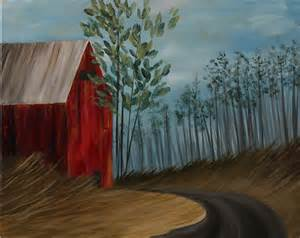 how to paint using acrylic paint on canvas summer barn step by step acrylic painting on canvas for