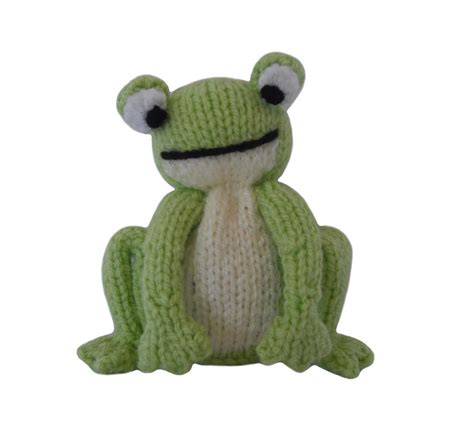 frog knitting pattern free frog by knitables craftsy
