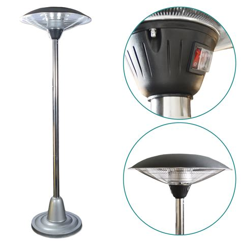 patio radiant heaters radiant patio heater electric radiant parasol patio