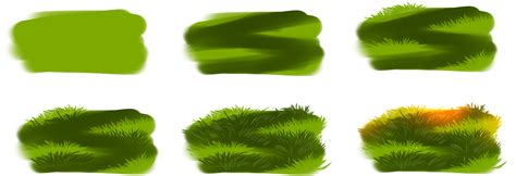 paint tool sai grass how i draw grass by ryky on deviantart