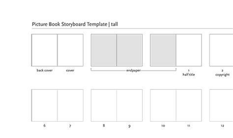 picture book template picture book layout templates the creative home of