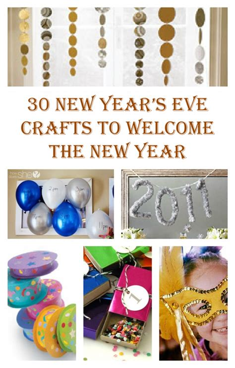 new year crafts for new year s crafts