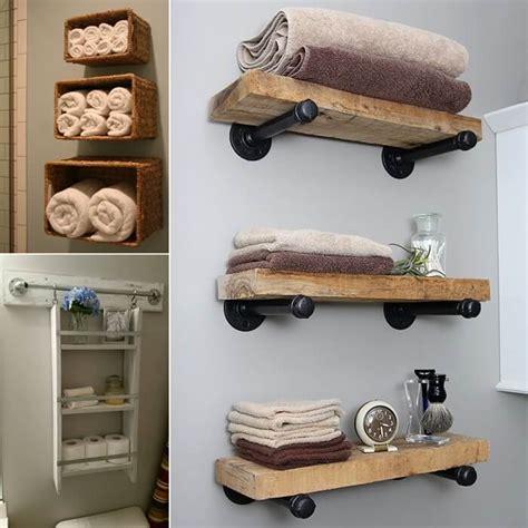bathroom shelf idea 15 diy bathroom shelving ideas that can boost storage