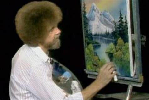 bob ross painting tv show fivethirtyeight proves that bob ross painted trees
