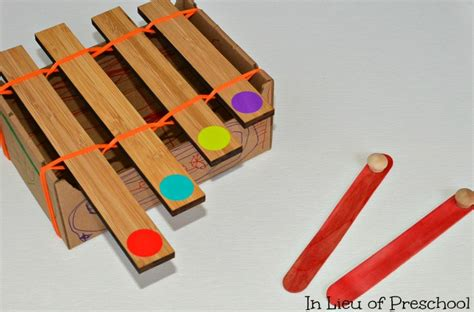 craft ideas for musical instruments musical instrument crafts for in lieu of preschool