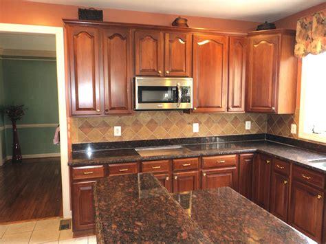 l chopra tan brown granite kitchen countertop granix