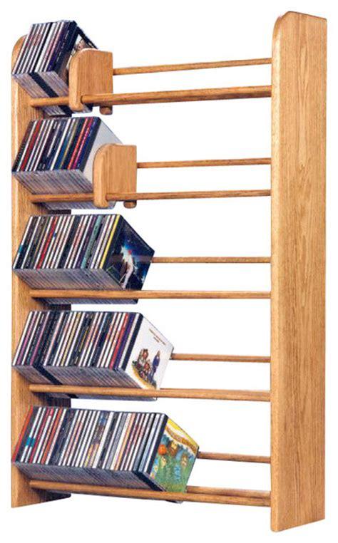Shaker Dining Room Chairs solid oak 5 row dowel cd rack modern media racks and
