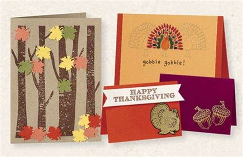 make thanksgiving cards different ideas for thanksgiving cards family