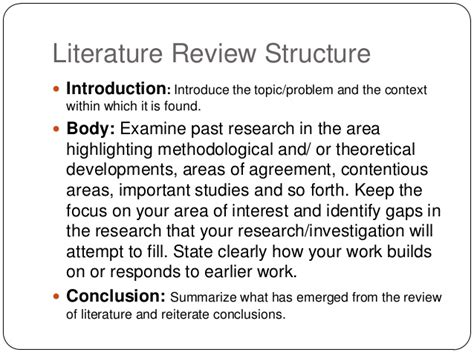 how to write a literature review non plagiarized term