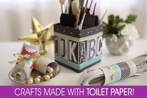 toilet paper craft ideas toilet paper crafts organizing home stuff in style