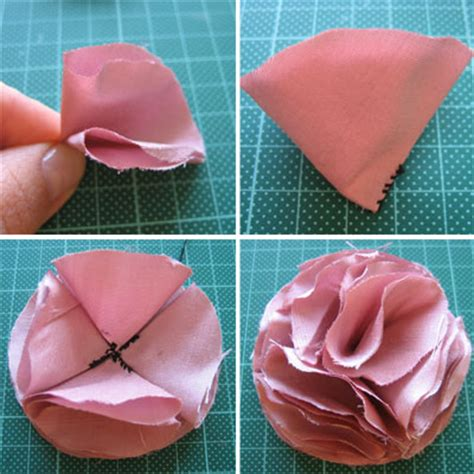 how to make fabric how to make fabric flowers