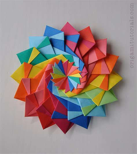origami with pictures sonobe cube l tutorial origami tutorials